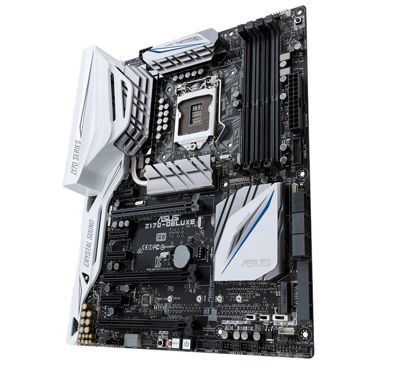 ASUS Z170 Deluxe Motherboard Review